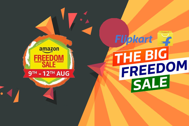 Amazon vs Flipkart: The Freedom Sale or The Big Freedom Sale