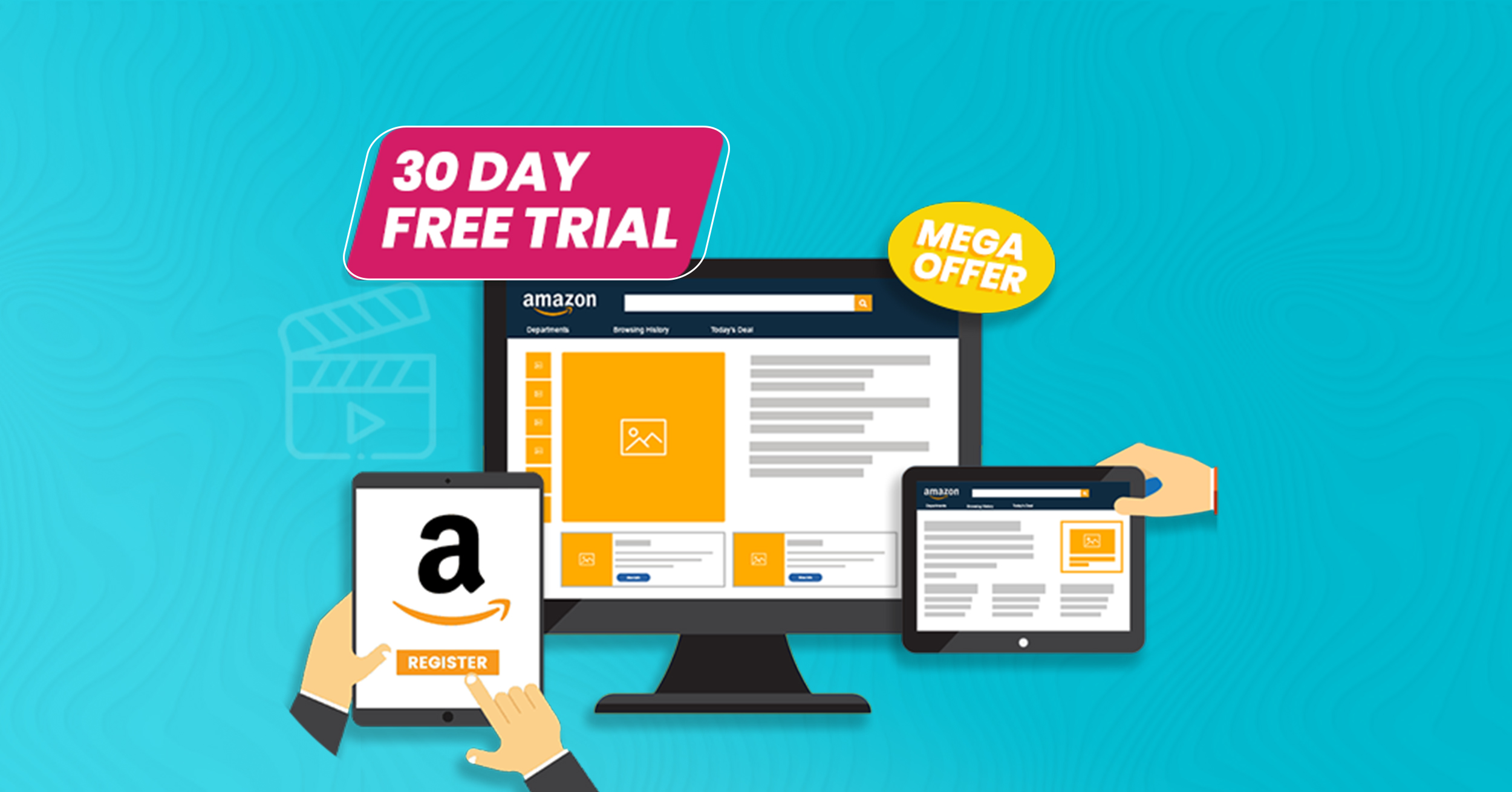 30 Day free trial for Amazon Advertising